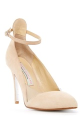 Kristin Cavallari By Chinese Laundry Caye Ankle Strap Pump Beige