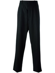 Thom Browne Satin Stripe Trousers Black