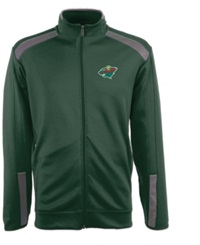 Antigua Men's Minnesota Wild Flight Jacket Green