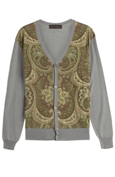 Etro Wool Silk Cardigan