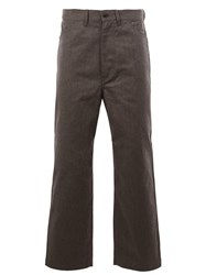 Junya Watanabe Comme Des Garcons Man Wide Leg Trousers Grey