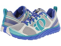 Pearl Izumi Em Trail M 2 Dazzling Blue Deep Peacock Women's Running Shoes Gray