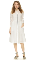 Steven Alan Chambers Dress White Crepe