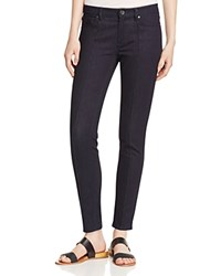 Elie Tahari Azella Pintucked Skinny Ankle Jeans In Dark Night