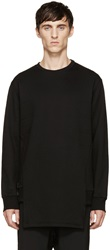 D.Gnak By Kang.D Black Crewneck Sweatshirt
