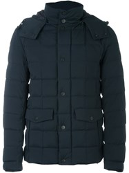 Fay Padded Coat Blue