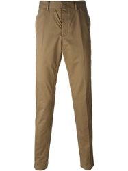 Lanvin Chino Trousers Brown