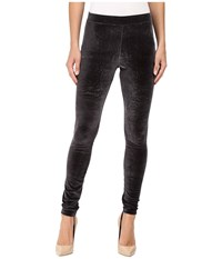 Hue Velvet Leggings Black Women's Casual Pants