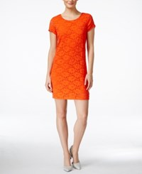 Maison Jules Lace T Shirt Dress Only At Macy's Rave Red