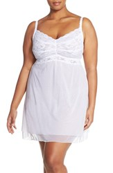 Plus Size Women's Cosabella 'Never Say Never' Babydoll Chemise