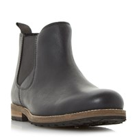 Howick Catfish Cleated Sole Chelsea Boots Black