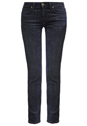 Lee Scarlett Slim Fit Jeans Dark Seed Dark Blue