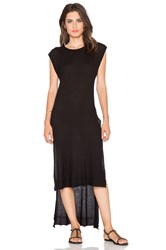 Wilt Uneven Slit Tunic Black