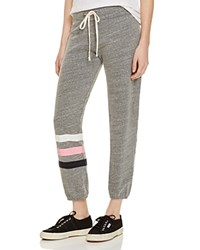 Sundry Striped Sweatpants 100 Bloomingdale's Exclusive Grey