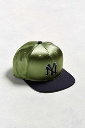 American Needle Babomb New York Yankees Baseball Hat Olive