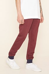 Forever 21 Cotton Blend Drawstring Joggers