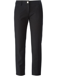 Versace Collection Cropped Trousers Black