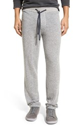 Men's James Perse Cashmere Sweatpants Heather Grey