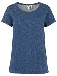 Fat Face Heysham T Shirt Indigo