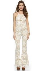 Stone Cold Fox Dylan Jumpsuit White Tan