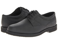 Nunn Bush Bloomington Plain Toe Oxford Lace Up Black Smooth Men's Shoes