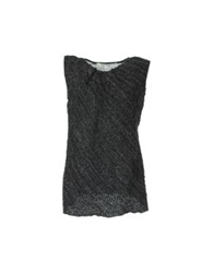 Hache Sleeveless Sweaters Steel Grey