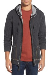Men's Jeremiah 'Rowan' Double Face Full Zip Hoodie Phanto Htr