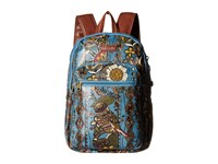 Sakroots Artist Circle Mini Backpack Lagoon Spirit Desert Backpack Bags Blue