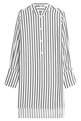 Mcq By Alexander Mcqueen Striped Tunic Shirt White