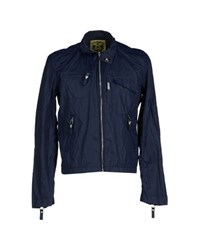 Zu Elements Zu Elements Coats And Jackets Jackets Men Dark Blue