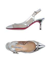 Luciano Padovan Footwear Courts Women Silver