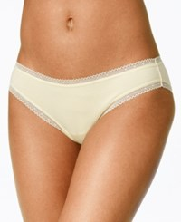 Charter Club Modern Essentials Lace Trim Bikini Only At Macy's Soft Sunlight