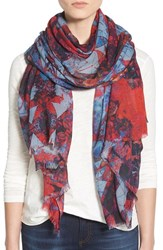 Lily And Lionel Women's Lily And Lionel 'Saona' Print Modal And Silk Scarf