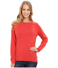 Fjall Raven Vik Sweater Coral Women's Sweater