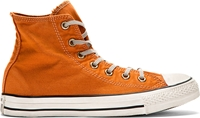 Converse Premium Chuck Taylor Orange Well Worn Chuck Taylor High Top Sneakers