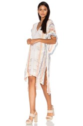 Goddis Livia Caftan Dress Blush