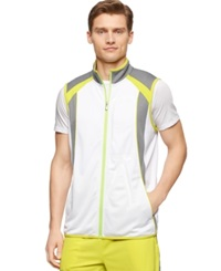Calvin Klein Performance Colorblocked Track Jacket White