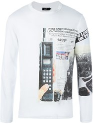 Blood Brother 'Mobile Mass' T Shirt White