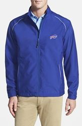 Cutter And Buck 'Buffalo Bills Beacon' Weathertec Wind And Water Resistant Jacket Tour Blue
