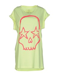 Gorgeous Topwear T Shirts Women Light Yellow