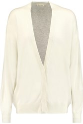 American Vintage Blossom Wool Blend Cardigan White