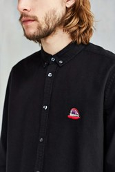 Cpo Embroidered Chest Dress Shirt Black
