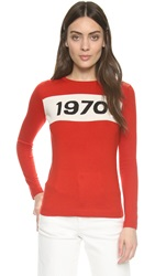 Bella Freud 1970 Sweater Red