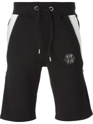Philipp Plein 'Number One' Shorts Black
