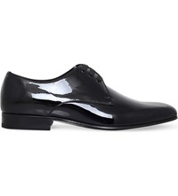 Tom Ford Gianni Evening Patent Leather Derby Shoes Black
