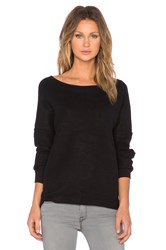 Bella Luxx Oversized Slouchy Pullover Black