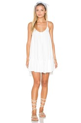 Sincerely Jules Rosa Cross Strap Dress White