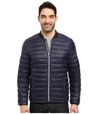 Calvin Klein Dressy Packable Puffer Jacket Cadet Navy Men's Coat Black