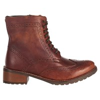 Barbour Camden Lace Up Ankle Boots Brown