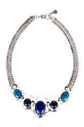 Yochi Design Goddess Of Trust Necklace Blue